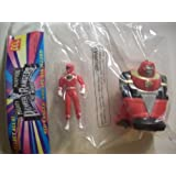 Mighty Morphin Power Rangers the Movie Red Ranger with Ape Ninja Zord (Mcdonalds Happy Meal Toy)