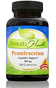 Pramiracetam | 300mg | Powerful Cognitive Enhancer | Size Variations of 30, 70, 100 and 150 Capsules