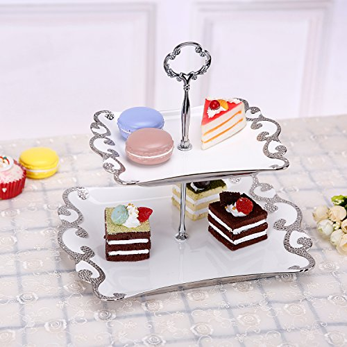 Ceramic Cupcake Dessert Display Serving