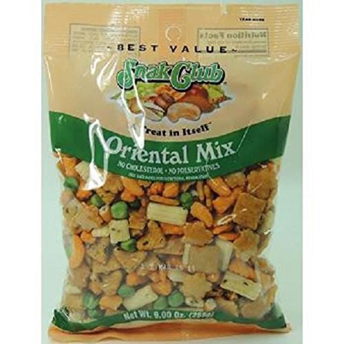 Product Of Snak Club, Premium Oriental Party Mix, Count 6 (7 oz) - Snacks / Grab Varieties & Flavors