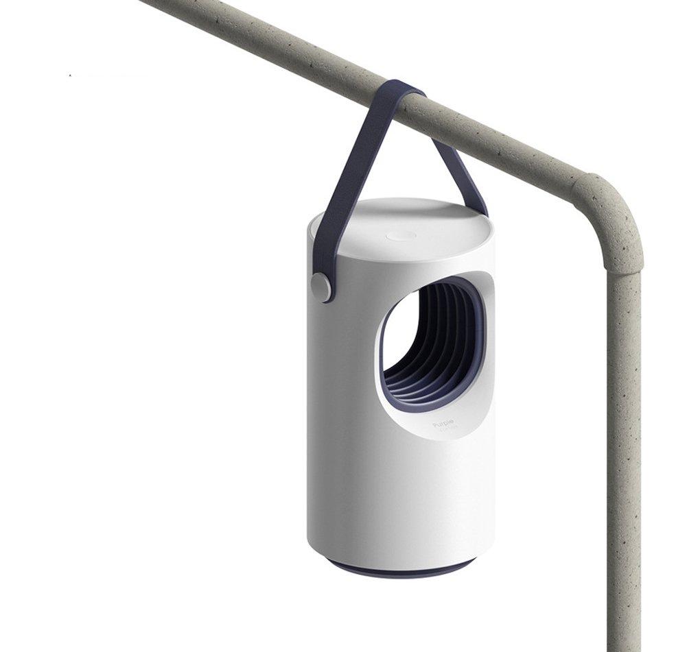 OOFAY LIGHT Kohlendioxid-Moskito-M/örder-Wanzen-Lampe Elektronisches Moskito-Abwehrger/ät-Innenmoskito-Falle Inhalierte Moskito-Fliegen-Abwehrmittel-Ger/ät USB-Ladeger/ät Leise//Strahlungsfrei