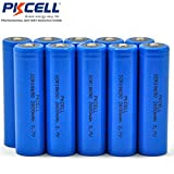 18650 LI-ion Rechargeable Battery 3.7V 2600mAH Button Top With PCB Protected (10pc)