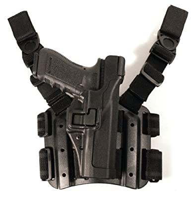 BLACKHAWK! Serpa Level 3 Tactical Black Holster