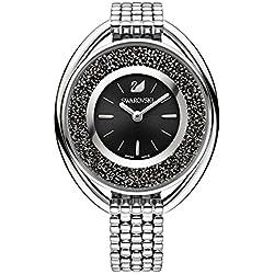 Swarovski 5181664 Crystalline Oval Black Bracelet Watch