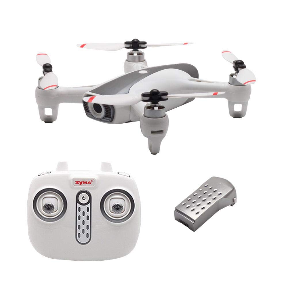 Drone+1Battery Purplert Drove with Camera with Gesture Shooting For SYMA W1 5G WIFI GPS 4K HD Drone Quadcopter