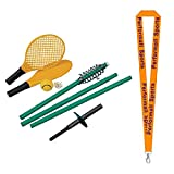 Champion Sports Tether Tennis Game Set with 1 Performall Lanyard TTGAME-1P