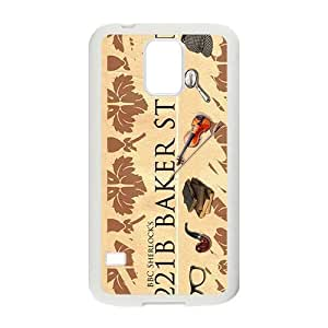221B BAKER STREET Cell Phone Case for Samsung Galaxy S5 hjbrhga1544