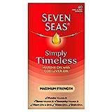 Seven Seas Pure Cod Liver Oil Extra High Strength 60 Caps