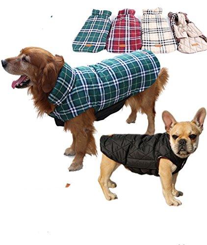 J.Market Warm Winter Coats for Dog Waterproof Windproof W...