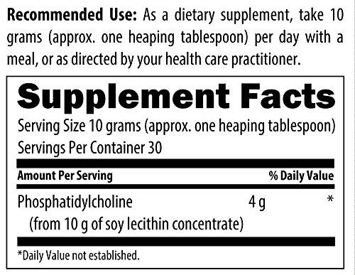 Designs for Health Phosphatidyl Choline 40% Powder, 300 Gram