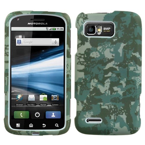 MyBat Motorola MB865 Atrix 2 Lizzo Phone Protector Cover - Retail Packaging - Digital (Lizzo Digital Camo)