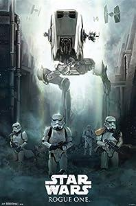 "Trends International RP14638 Siege Star Wars Rogue One Siege Wall Poster, 22"" x 34"""