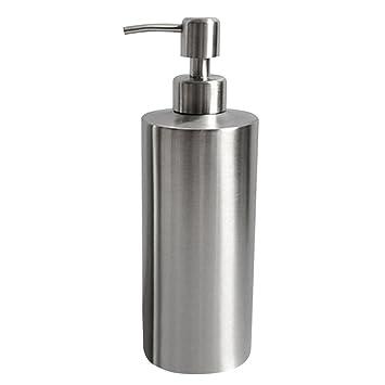 Gazechimp Dispensador Jabón Uso como Decoración Ideal para Baño Cocina Bandejas de Baños - 1 # 550ml: Amazon.es: Hogar