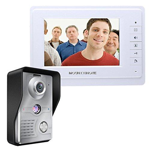 新品入荷 有線タッチキー7インチビデオドアホンインターホンシステム1 RFIDキーパッドコード番号ドアベルカメラ1モニタ1000TVL   B07CRCJY8K, 山越郡:d221dfb0 --- martinemoeykens-com.access.secure-ssl-servers.info