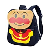 YOURNELO Kid's Cute Cartoon Jean Rucksack School Backpack Bookbag for Boys Girls (Anpanman 1)
