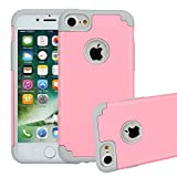 PC Hardware : iPhone 7 Case, Beimu 2in1 Hybrid Case Cover for iPhone 7. Hard Cover for iPhone 7 Printed Design PC+ Silicone Hybrid Highly Durable Shock-Absorption Impact Defender Case Combo Hard Soft Cases Covers