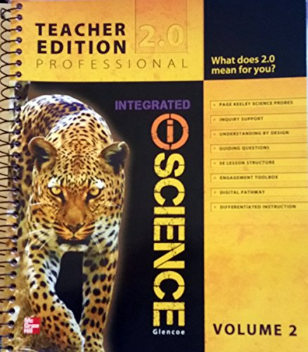 glencoe integrated iscience professional vol 2 teacher