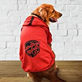 WATFOON Male Pet Winter Soft Clothes Large Dog Outdoor Warm Hoodies Vest T Shirt Coat Sweater Apparel Outfits Medium Dogs Weekend Parties Shirts, Great Years Gift for Your Pets