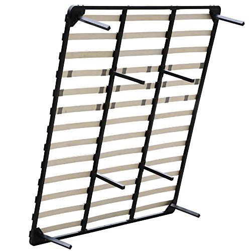 Yaheetech Metal Platform Bed Frame Wood Slats Support 5 Size Mattress Foundation Base Bedroom Furniture (King)