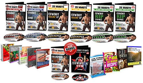 Lose 12 inches Kit - DVD Workout with Cowboy Ryan
