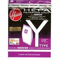 Pk/2 x 4: Hoover Hepa Y Filtration Vacuum Bags (4010801Y)