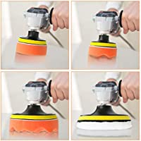 8-5 /& 31-3 Car Buffer Drill Attachment 2 in 1 Car Foam Drill Polishing Pad Kit WIOR 39 Pcs Buffing Pads /& Polishing Pad
