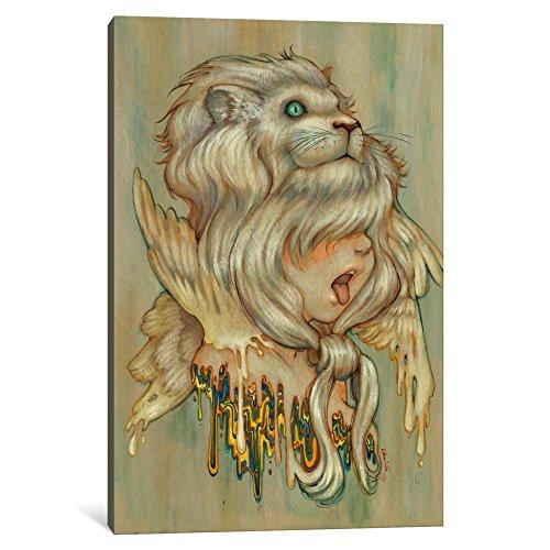 iCanvasART 1-Piece Hear Danielle Roar Canvas Print by Camilla d'Errico, 12