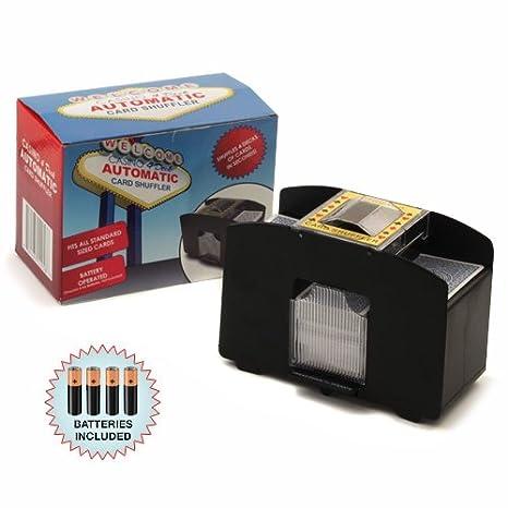 Amazon.com: 4 Deck Playing Card Shuffler W/Free Batteries ...