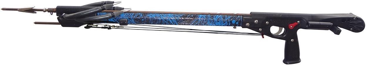 Ocean Rhino Rxシリーズハイブリッドlineshaft Speargun ブルー 59\