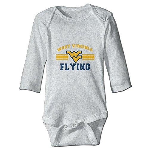 custom-west-virginia-helmets-baby-girl-and-boy-climbing-cotton-long-sleeve-t-ash-18-months