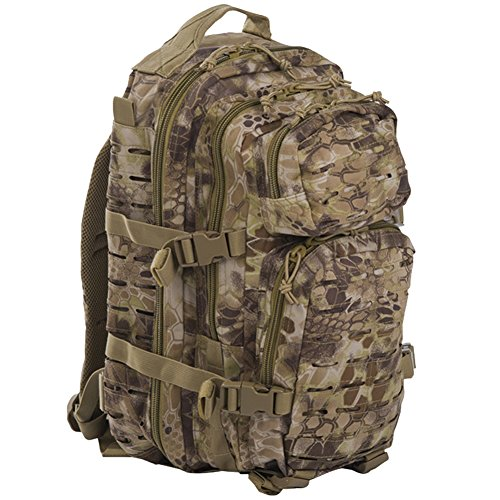 mochila Mil Tec US Assault de 20 L color Mandra Tan