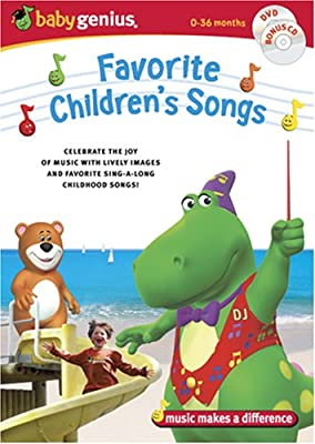 Baby Genius Favorite Childrens Songs Wbonus Music Cd from Pacific Entertainment