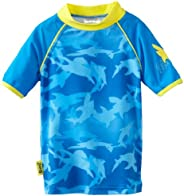 Baby Banz Boys Short Sleeve Rash Top
