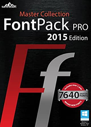 Download Amazon.com: Font Pack Pro Master Collection for PC ...