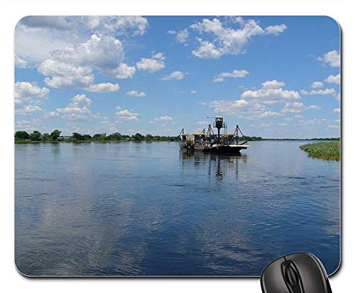 Mouse Pads - Africa River Botswana Water Landscape Nature Boot