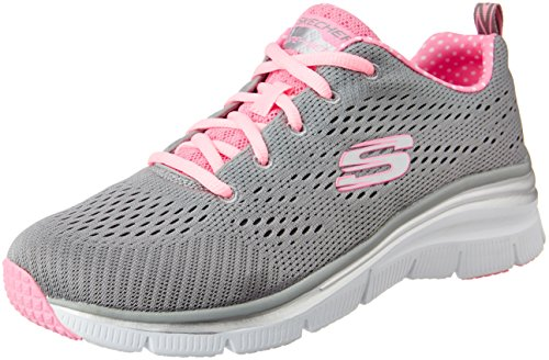 Piece Skechers Rosa Donna Statement Fit Grigio Sneaker Moda Fashion alla Utqrwtx