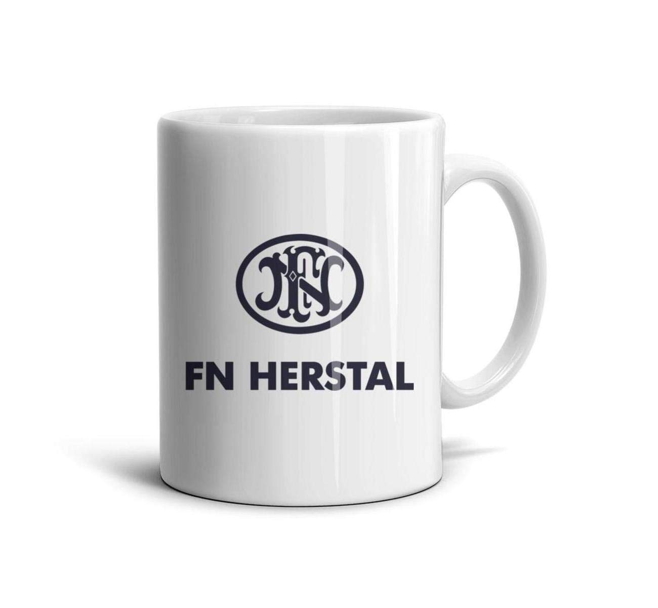 HIYITUTA Fn Herstal Mdash Coffee Mugs White Unique Mug 11 Oz Weddings Mugs Boyfriend Birthday