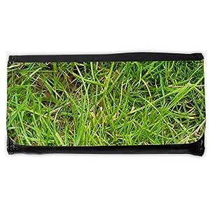 le portefeuille de grands luxe femmes avec beaucoup de compartiments // M00155925 Prado de Rush verdes briznas de hierba // Large Size Wallet