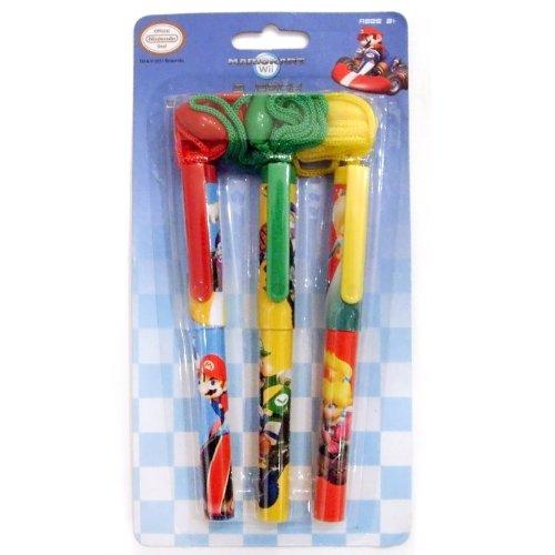 Birthday Express - Mario Kart Wii Rope Pens