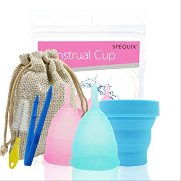 Período silicona Copa Menstrual reutilizable Higiene Femenina ...