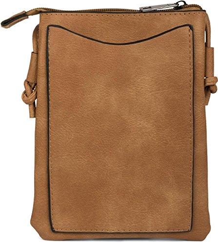 sac à avec sac couleur rivets foncé à découpés motifs sac 02012211 Chameau et femme en zigzag bandoulière petit styleBREAKER forme Gris bandoulière de qwFESpfaq