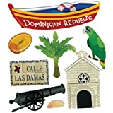 Jolee's Boutique Dominican Republic Dimensional Stickers