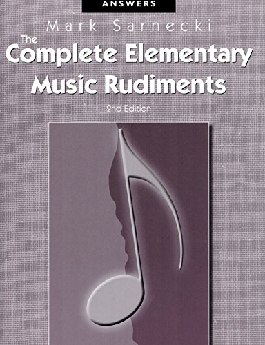 elementary rudiments of music 2nd edition pdf