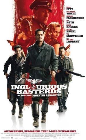 Amazon.com: Inglourious Basterds Poster E 27x40 Brad Pitt Diane ...