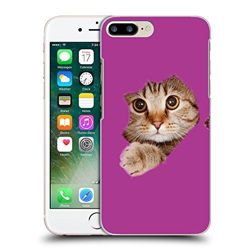 GoGoMobile Coque de Protection TPU Silicone Case pour // Q05670621 Trou papier chat bizantino // Apple iPhone 7 PLUS