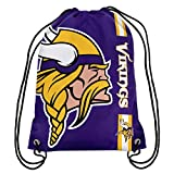 Minnesota Vikings Big Logo Drawstring Backpack