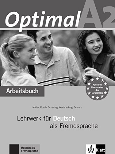Optimal: Arbeitsbuch A2 MIT Audio-CD (German Edition)