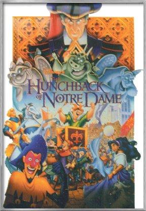 The Hunchback Of Notre Dame - Framed Disney Movie Poster / P