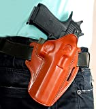 LEATHER PANCAKE (OWB) HOLSTER FOR DESERT EAGLE, FITS ALL CALIBARS WITH 6'' BARREL,ALSO FITS COONAN 357 MAGNUM