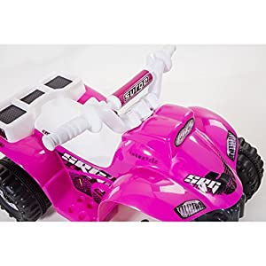 Dynacraft-Surge-Girls-6v-Battery-Powered-Atv-Battery-Powered-Kids-Car